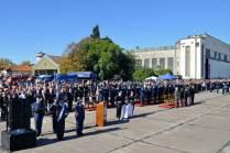 Vista panorámica del palco de autoridades e invitados especiales. (Foto: Andrés Rangugni)