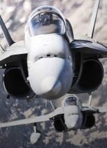 Aviones del destacamento ámbar en vuelo (foto: José Luis Franco Laguna)