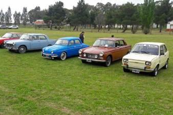 """La Asociación de Autos Clásicos también dijo """"presente"""" con varias de sus inmaculadas máquinas. (Foto: Lorenzo Borri)"""