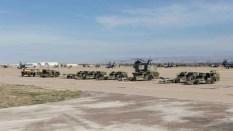 Plataforma Militar Sur de la Base Aérea de Zaragoza durante el Tormenta 2017(foto: Miguel Ángel Blázquez Yubero)