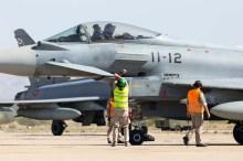 Eurofighters en operación (foto: Miguel Ángel Blázquez Yubero)
