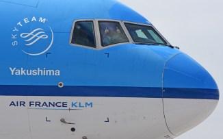 La buena onda de la gente de KLM (foto: Rafael Reca).