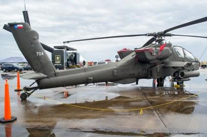 AH-64A Apache representando a la Guardia Nacional de Texas (foto: Javier Vera Martínez).