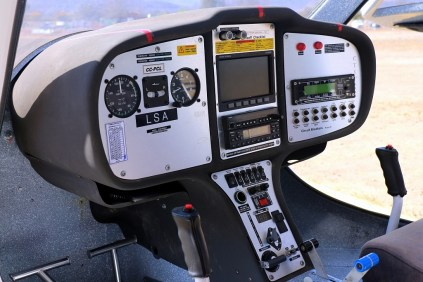 Flight Design CT SW CC-PCL instrument panel (photo: Carlos Ay).