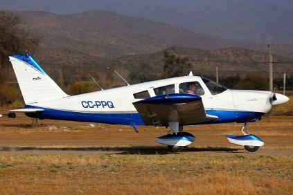 Piper PA-28-235 Cherokee (photo: Carlos Ay).