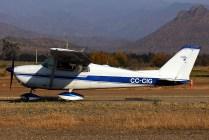 Cessna 172 CC-CIG taxiing to active runway (photo: Carlos Ay).