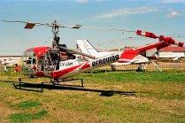 Hiller UH-12E LV-JAM (photo: Carlos Ay).