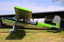 One eighty: Cessna 180 CC-PIO (photo: Carlos Ay).