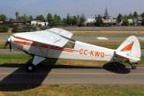 Super Cub: CPV Piper PA-18 CC-KWQ (photo: Carlos Ay).