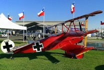 Marking the I World War centennial, the Los Cerrillos museum will feature a Fokker triplane replica (photo: Carlos Ay).