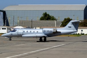 In several discreet visits to Pudahuel, Argentine Air Force Learjet 35A VR-24 was a rarely noticed yet welcomed addition to the show's inventory (photo: Antonio Segovia/Modo Charlie).