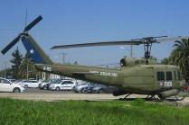Participating in media flights allow us to enter Pudahuel Air Base and picture this Grupo de Aviación No.9 marked UH-1H Huey (photo: Fernando Puppio).