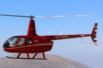 Transportes Heli Chile R-66 Turbine CC-AKQ (photo: Carlos Ay).