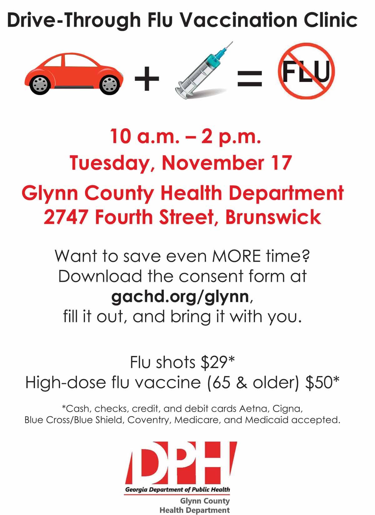 Drive Through Flu Flier 2015 Glynn_Layout 1.qxd