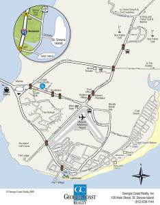 also map of st simons island georgia coast realty rh gacoastrealty