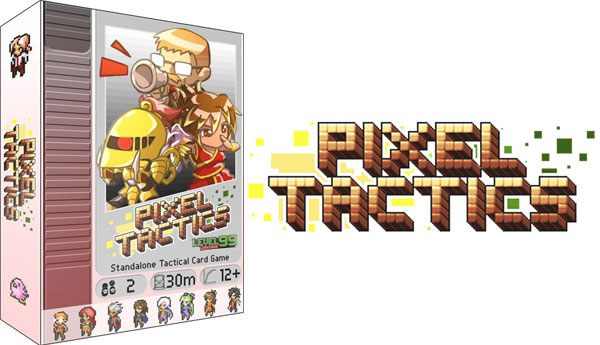 Pixel Tactics Play it at the Game Cruise
