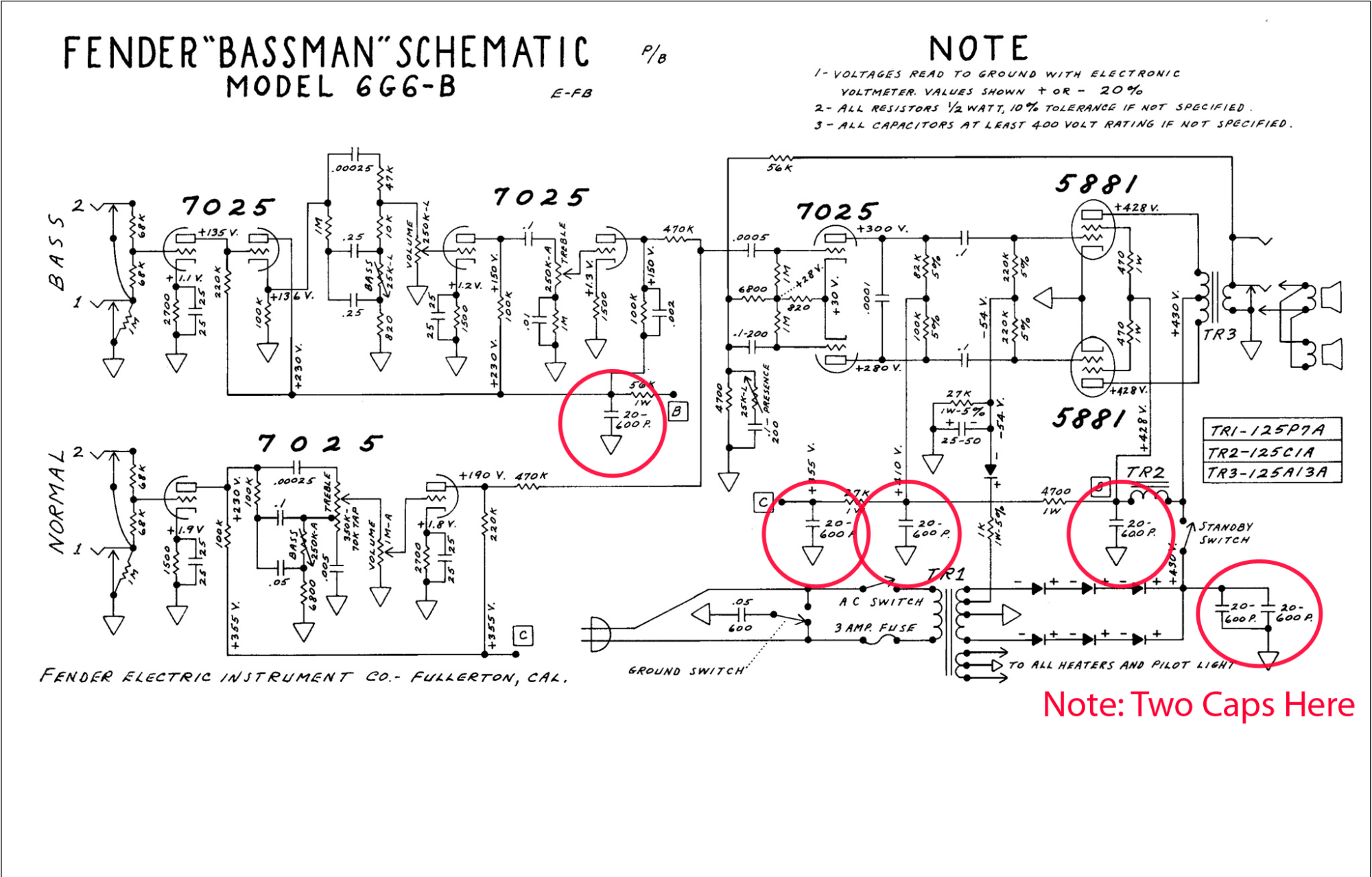 hight resolution of filter cap schematic wiring diagram detailed pnuematic baffle schematic symbol cap job on my 1963 fender
