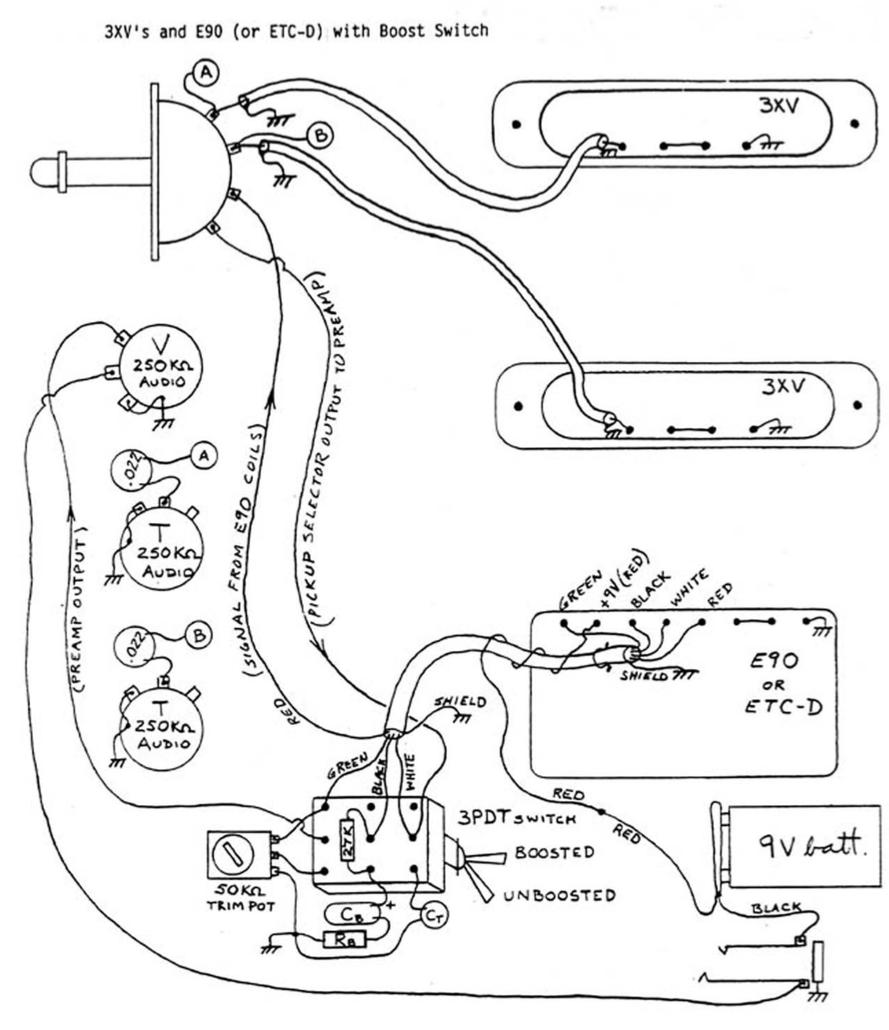 Bartolini Pickups Wiring Diagram Ibanez Pickup Wiring