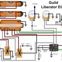 Single Coil Humbucker Wiring Diagram For Dryer Bare Knuckle Pickups Circuit Maker