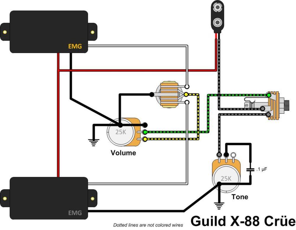 medium resolution of guild flying star x 88 cr e gad s ramblings washburn guitar wiring diagrams guild guitar wiring diagram