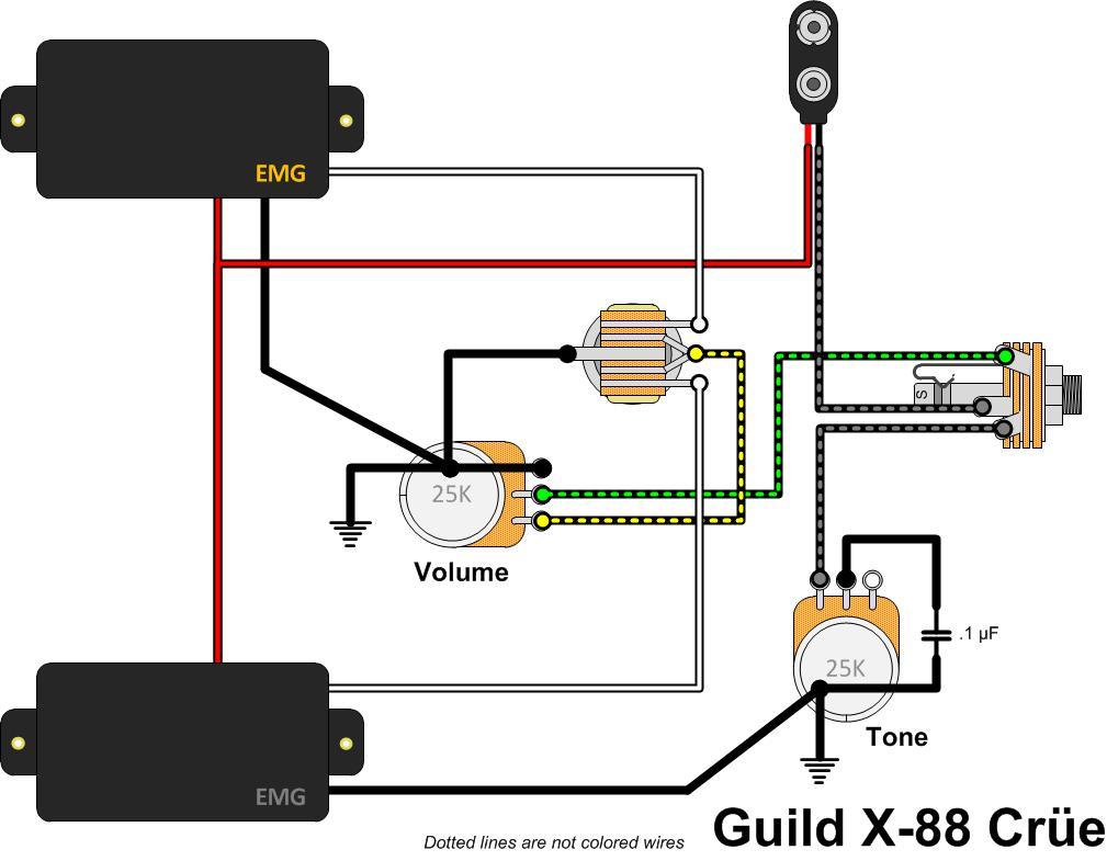 hight resolution of guild flying star x 88 cr e gad s ramblings washburn guitar wiring diagrams guild guitar wiring diagram