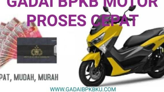 Simulasi Gadai BPKB Motor Bandung 1 Jam Cair