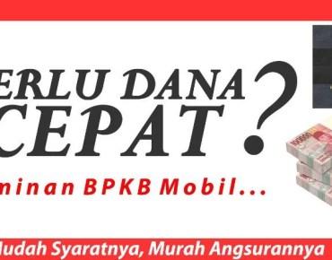 Gadai BPKB Mobil Tangerang Proses Langsung Cair