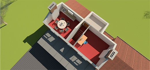 3D Visual For School In Lincolnshire – Lets Take The Roof Off & Peer Inside