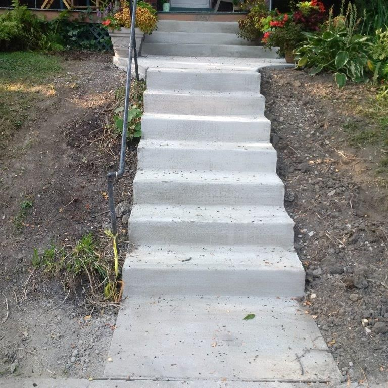 Columbus Concrete Steps Concrete Resurfacing Contractors