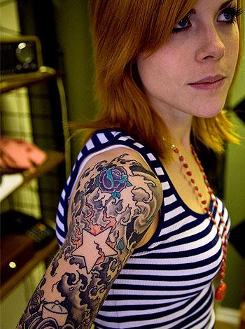hair parlour tatuering piercing tattoo gaddningse
