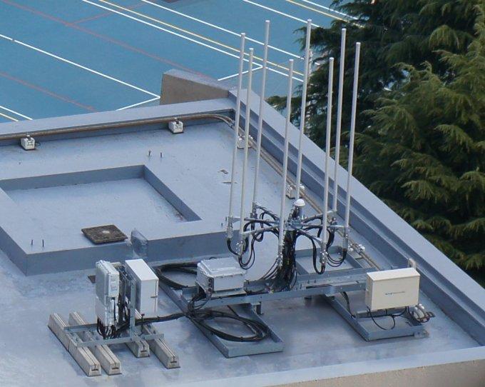 Softbankの3.5GHz帯アンテナの一例