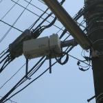 日本電装製20mW ASTEL基地局CS1D(右)