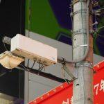 横浜駅西口近くにあるau Wi-Fiスポット