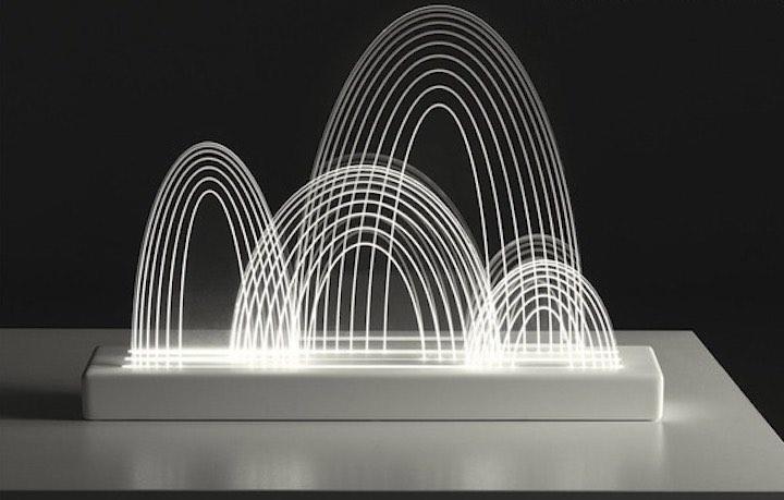 GUILIN Lampe: Von den Bergen inspiriertes Designelement