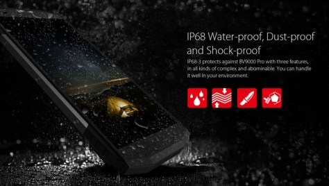 BLACKVIEW BV9000 Pro IP68