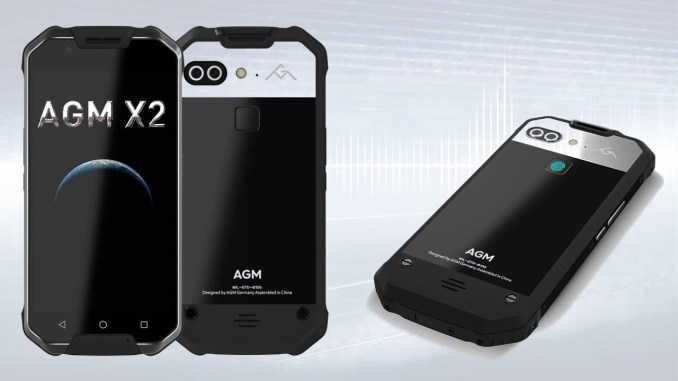 AGM X2 Rugged Android Phone