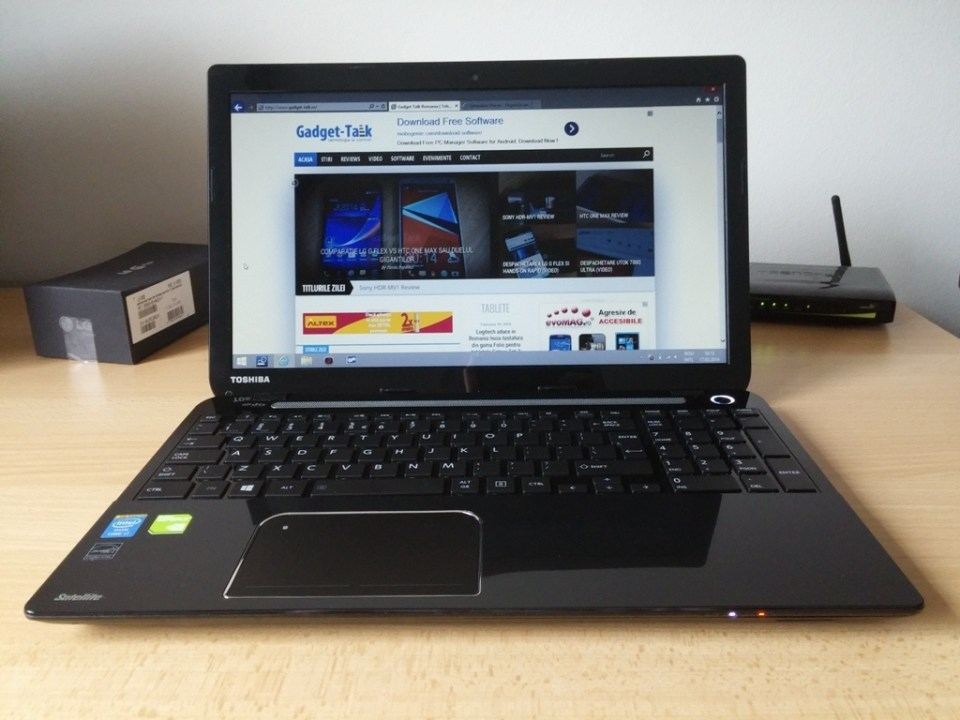 toshiba satellite l50 review