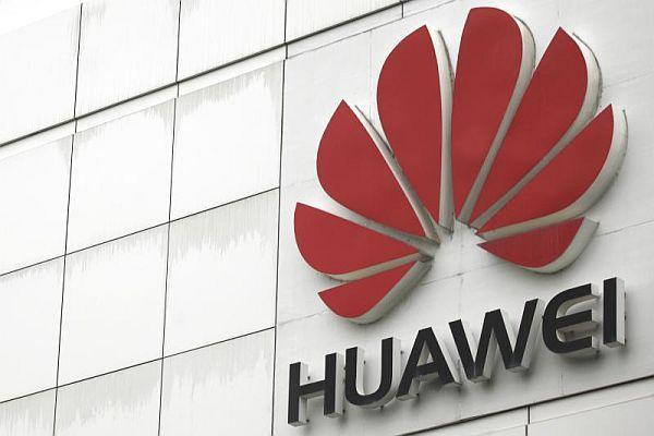Huawei outside logo