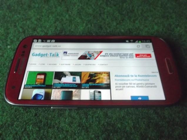 Samsung GALAXY S3 Rosu (34)