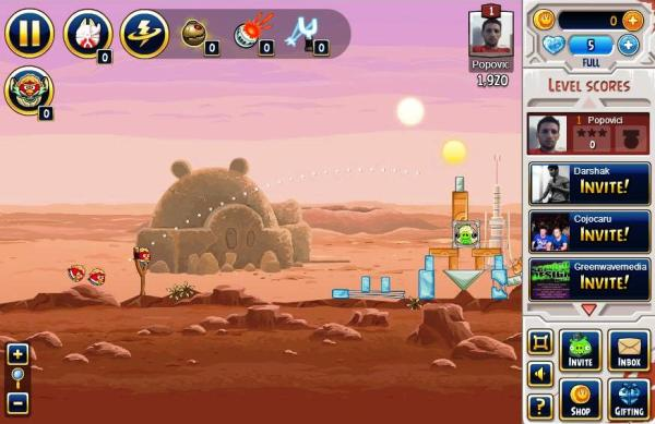 joc facebook angry birds star wars