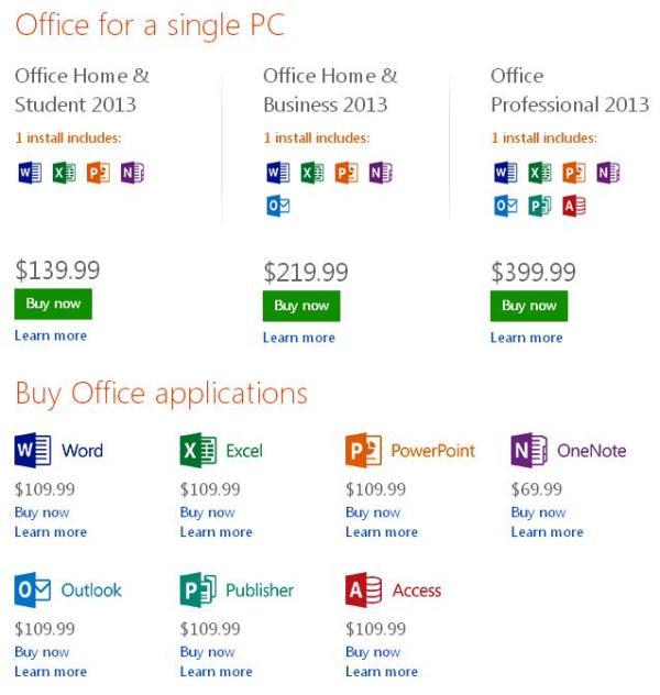 preturi Microsoft Office 2013