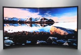 primul televizor OLED Samsung cu ecran curbat (2)