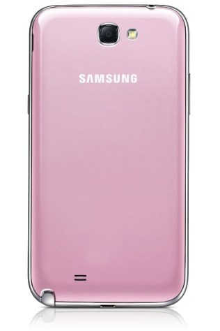 Pink GALAXY Note II GT-N7100 Back