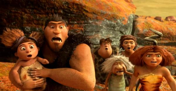 The Croods joc si film de animatie Rovio Dreamworks