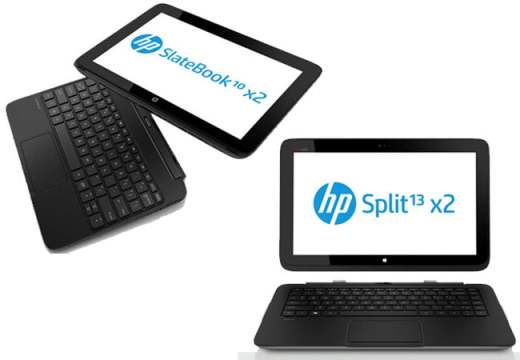 HP Slatebook x2 si Split x2