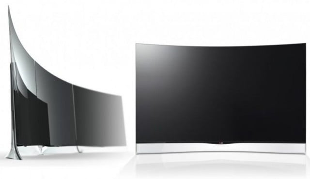 TV LG ecran OLED curbat