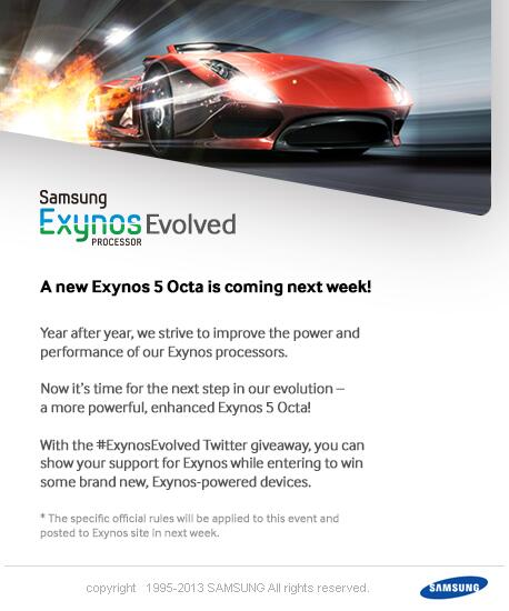 chipset Samsung Exynos Evolved
