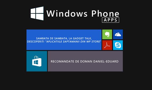 aplicatii Windows Phone