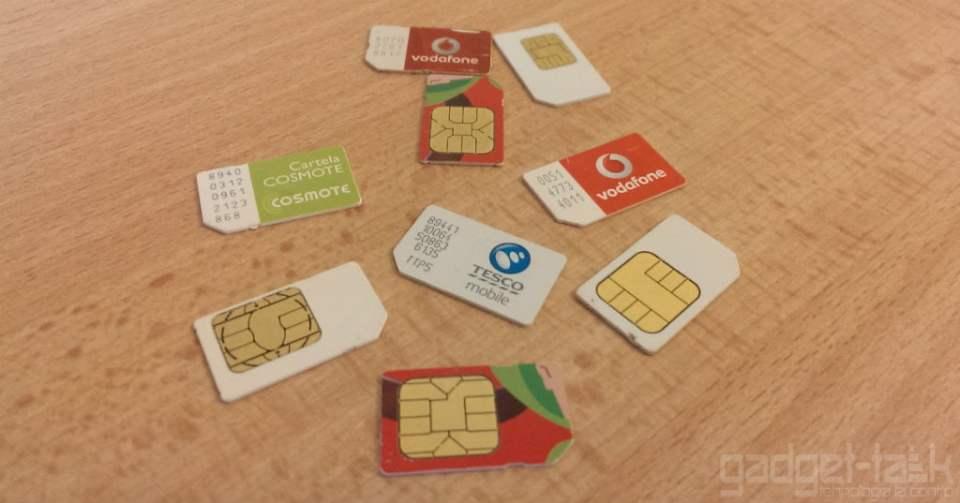 Cartele SIM PrePay cu buletinul