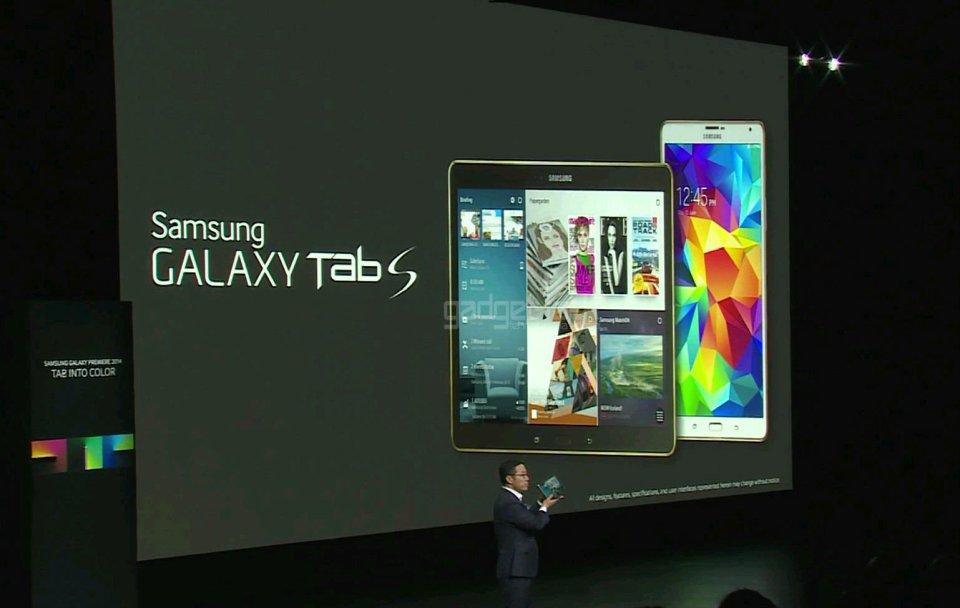 tabletele Galaxy Tab S